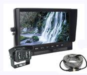 """AHD LCD monitor do auta 7"""" +1x kamera snočným videním"""