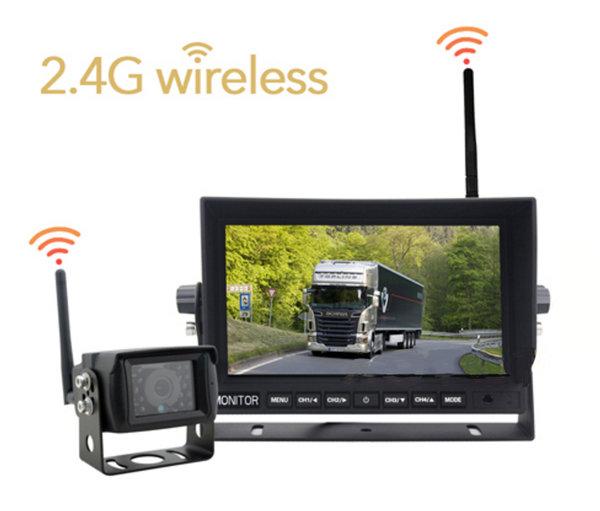 WiFi set 1x LED monitor a 1x cúvacia kamerta