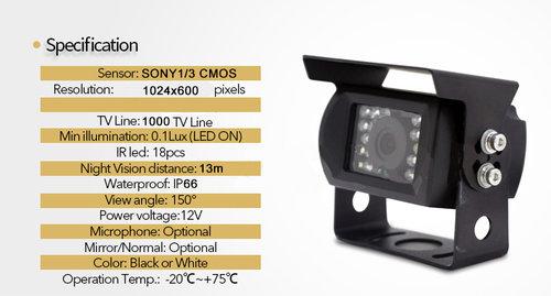 ahd kamera parametre