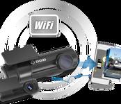 DOD RC500S Wifi duálny kamerový set do auta  s GPS a rozlíšením 1080P